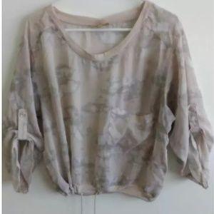 Princess Vera Wang womans blouse size L